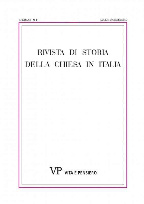 Chiara Isabella Fornari: l'immagine agiografica di una mistica fra Illuminismo e Restaurazione